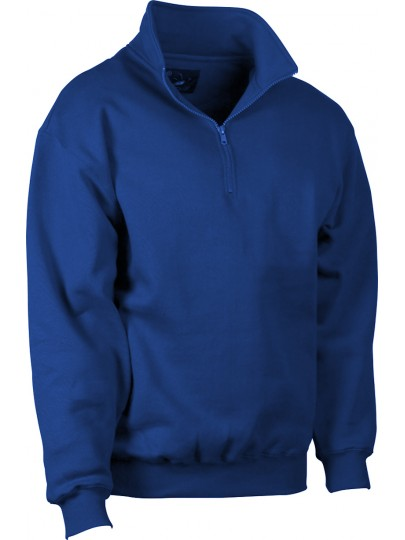 Sweatshirt med kort Zip art 3060.